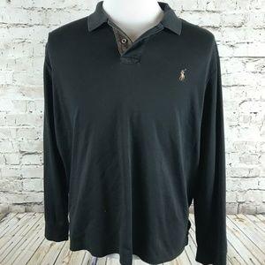 Polo Ralph Lauren Men's Long Sleeve Polo Shirt XXL